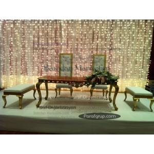 Altın Varaklı Nikah Masası