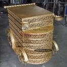 Altın serisi Papatya Pasta Servis Arabası