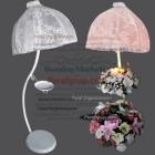 Beyaz Şemsiye Şamdan