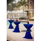 Kokteyl Masa Örtüsü Mavi