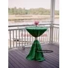 Kokteyl Masa Örtüsü Yeşil