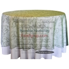 Masa Örtüsü Yonca Yeşili Dantel Kapak